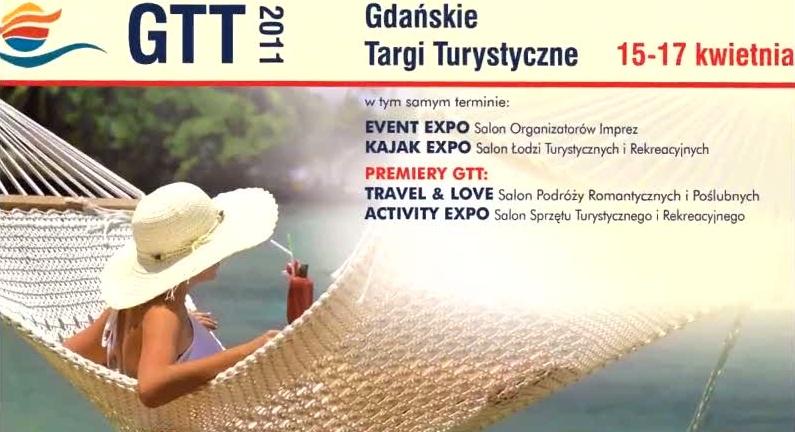 Zaproszenie na turystyczne targi w Gdańsku