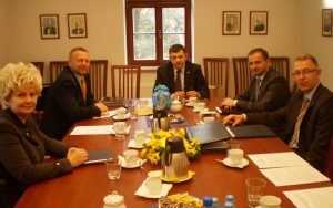 Spotkanie Zarządu na Zamku Piastowskim w Raciborzu