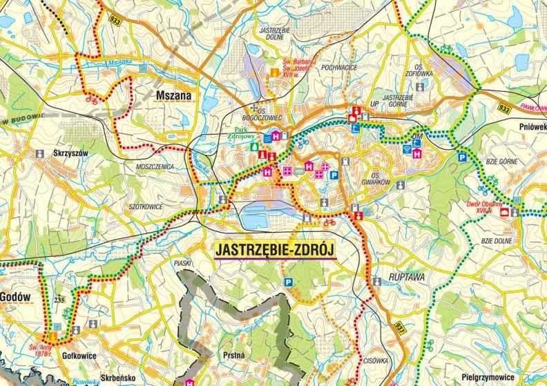 Otrzymaliśmy dofinansowanie na druk mapy turystycznej Subregionu