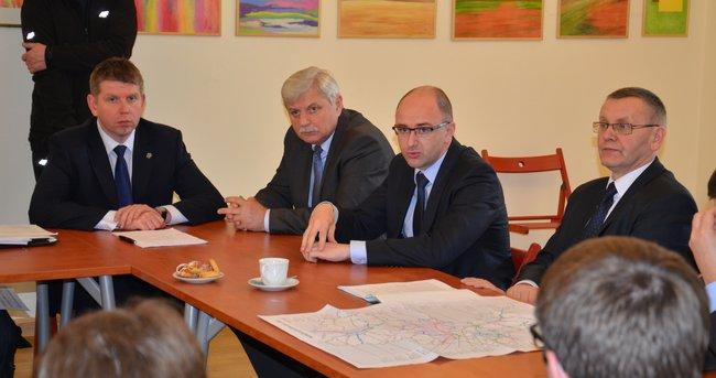 Spotkanie samorządowców z Marszałkiem Województwa Śląskiego
