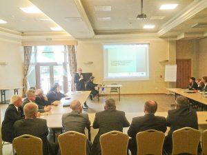 Konferencja wyjazdowa Członków Związku Gmin i Powiatów Subregionu Zachodniego Województwa Śląskiego z siedzibą w Rybniku.