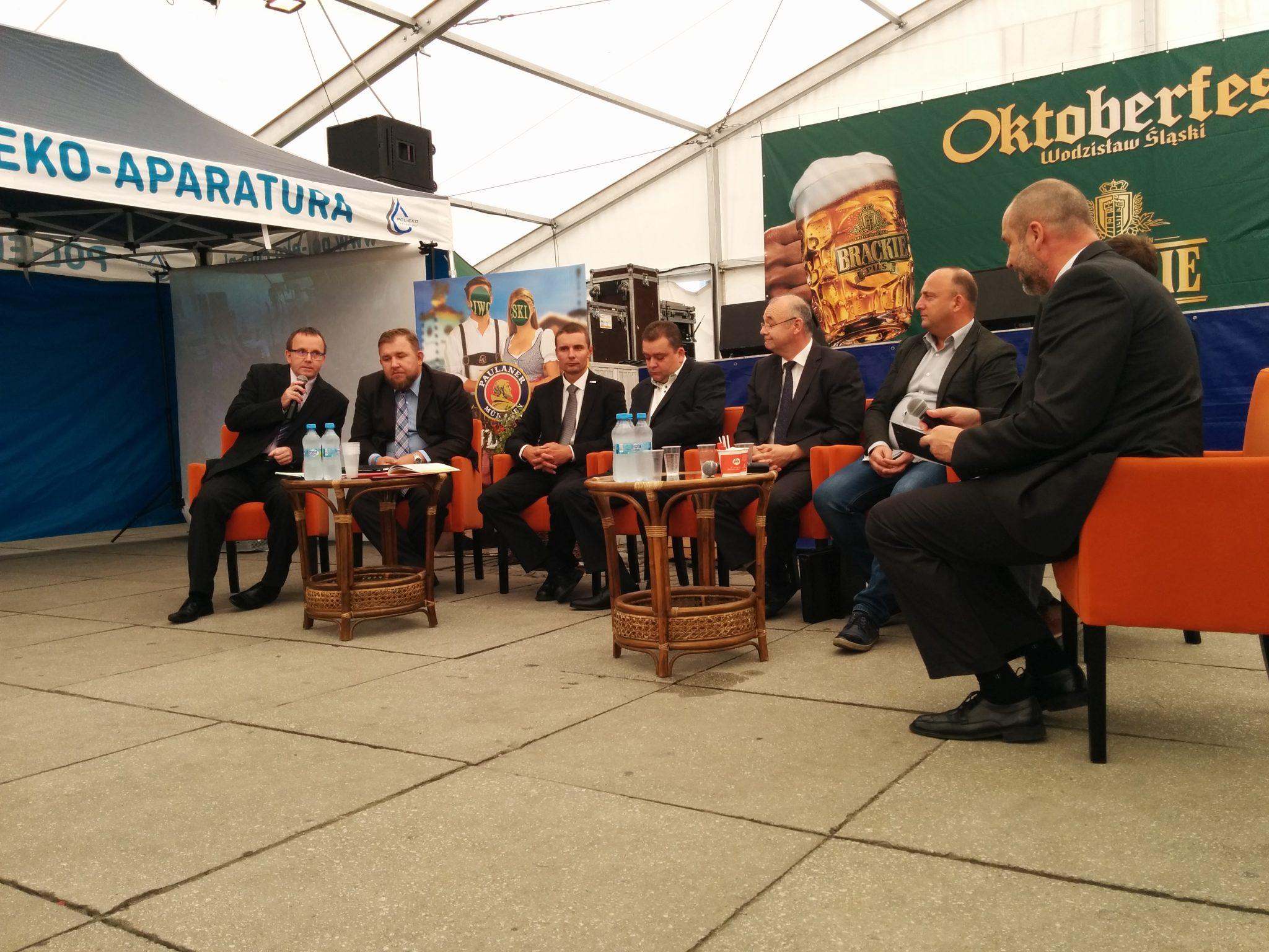 Dzień Partnerów i Biznesu w trakcie wodzisławskiego Octoberfest – 22 września 2016 r.
