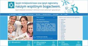 Kampania promująca języki mniejszości narodowych i etnicznych oraz język regionalny