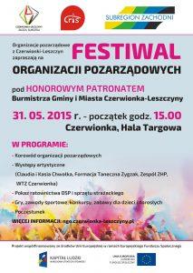 Zapraszamy na Festiwal Organizacji Pozarządowych