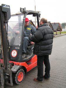 Szkolenie - wózek widłowy
