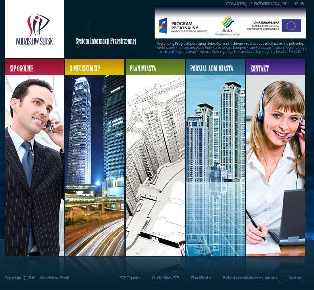 System Informacji Przestrzennej Wodzisław