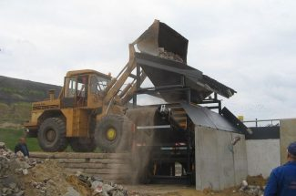 Budowa zakładu odzysku odpadów budowlanych w Rybniku