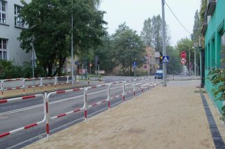 Poddziałanie 7.1.2 Projekt Zwiększenie atrakcyjności terenów inwestycyjnych w centrum Rybnika poprzez przebudową i budową układu drogowego