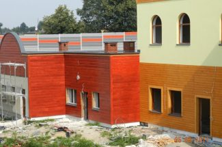 Zdjęcia z budowy - Siepień 2011