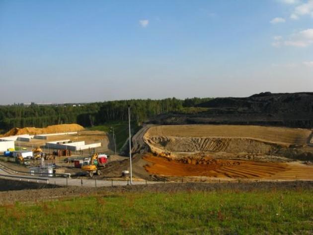 """Działanie 5.2 Projekt """"Zamknięcie i rekultywacja II kwatery składowiska odpadów komunalnych w Rybniku"""""""