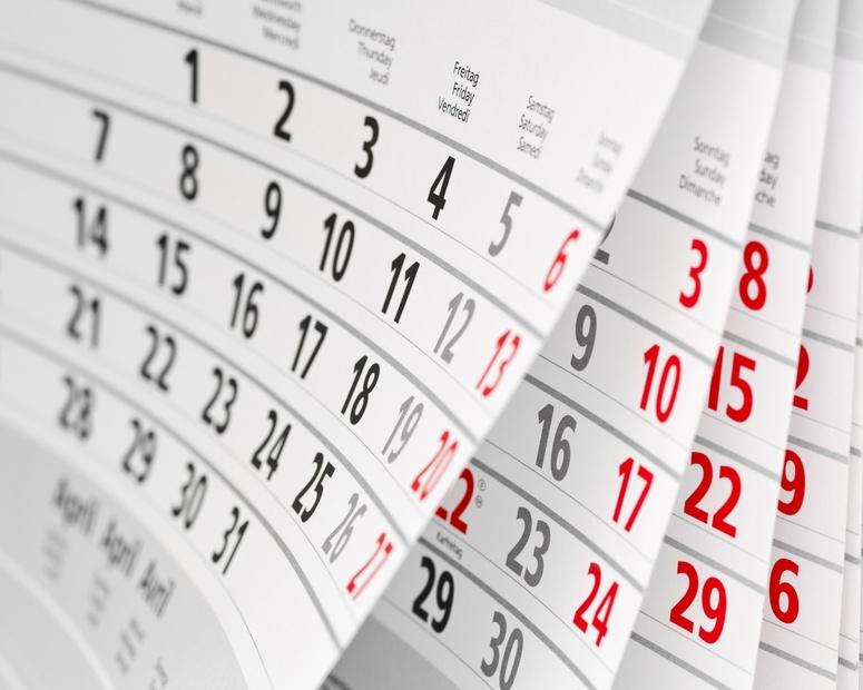 obraz kalendarza