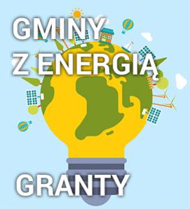 Grafika Gminy z energią